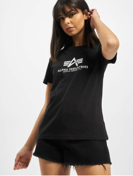 Alpha Industries T-Shirt New Basic  schwarz