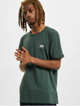Alpha Industries T-Shirt Basic Small Logo vert