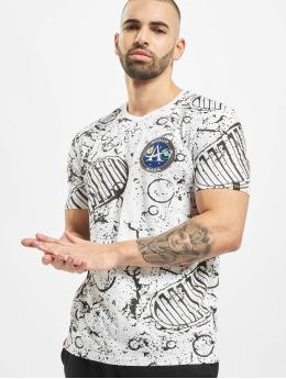Alpha Industries T-Shirt Moon weiß