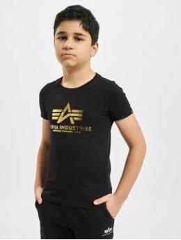 Alpha Industries t-shirt Basic zwart