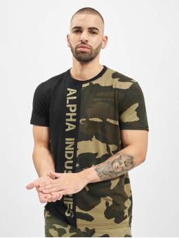 Alpha Industries T-shirts Camo Half camouflage
