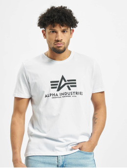 Alpha Industries T-shirts Basic hvid