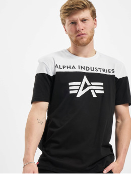 Alpha Industries T-Shirty CB T czarny