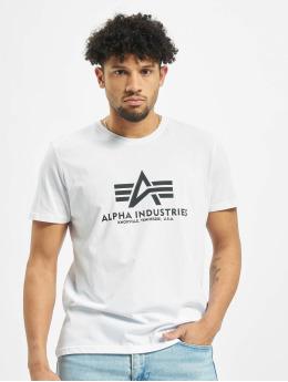 Alpha Industries T-skjorter Basic hvit