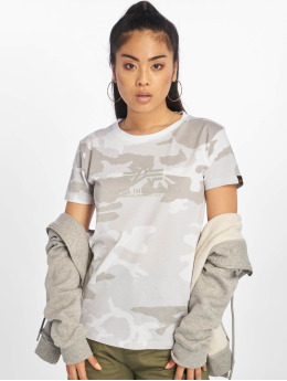 Alpha Industries T-skjorter New Camo Basic kamuflasje