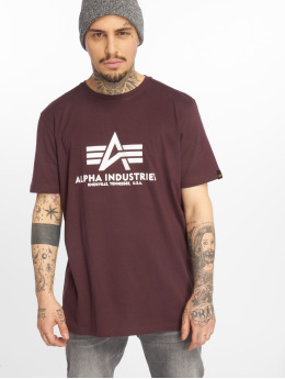Alpha Industries T-skjorter Basic red