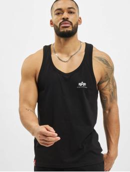 Alpha Industries Tank Tops Basic schwarz
