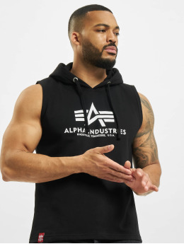Alpha Industries Tank Tops Basic Hooded schwarz