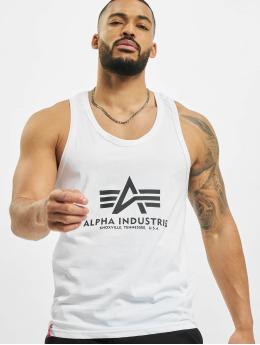 Alpha Industries Tank Tops Basic  valkoinen