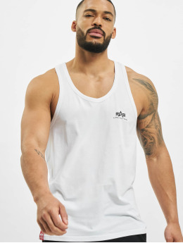 Alpha Industries Tank Tops Basic weiß