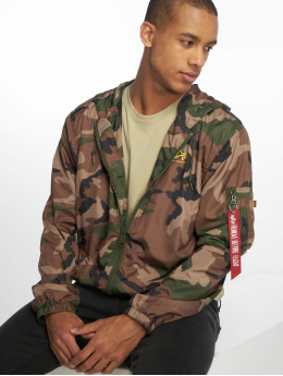 Alpha Industries Transitional Jackets Camo 65 kamuflasje