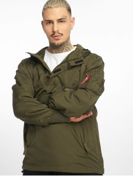 Alpha Industries Transitional Jackets Glider Anorak oliven