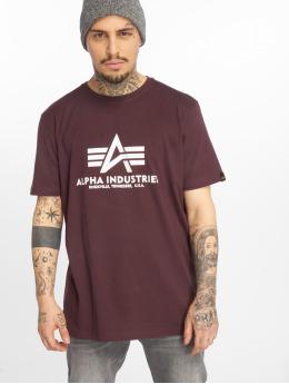 Alpha Industries Tričká Basic èervená