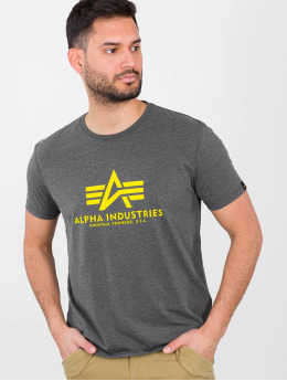 Alpha Industries Trika Basic šedá