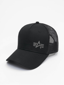 Alpha Industries Trucker Cap Small Logo black