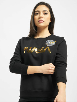 Alpha Industries trui Nasa Pm zwart