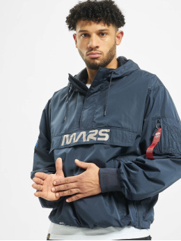 Alpha Industries Übergangsjacke Mars Mission blau