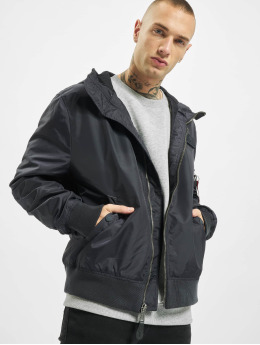 Alpha Industries Übergangsjacke Ma-1 Lw Hooded grau