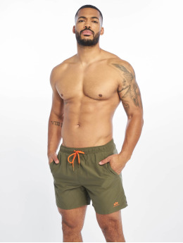 Alpha Industries Uimashortsit Basic oliivi