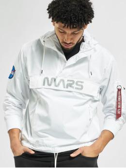 Alpha Industries Välikausitakit Mars Mission valkoinen