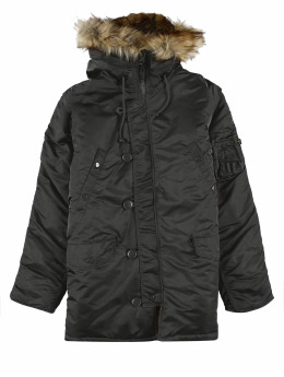 Alpha Industries Winterjacke N3b Vf 59 grau
