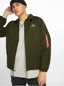 Alpha Industries Zomerjas Coach groen