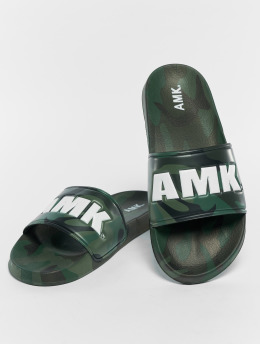 AMK Badesko/sandaler Sandals kamuflasje