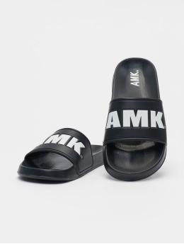 AMK Chanclas / Sandalias Logo negro