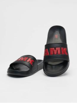 AMK Sandály Logo čern