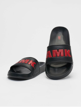 AMK Slipper/Sandaal Logo zwart