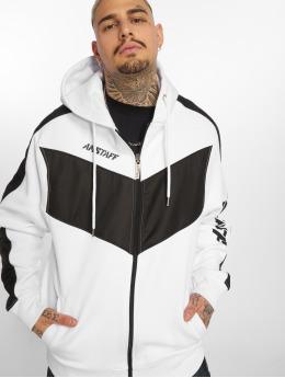 Amstaff Hoodies con zip Vanos bianco