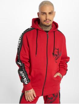 Amstaff Hoodies con zip Avator rosso
