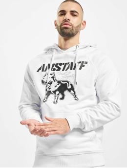Amstaff Hoody Logo 2.0 weiß