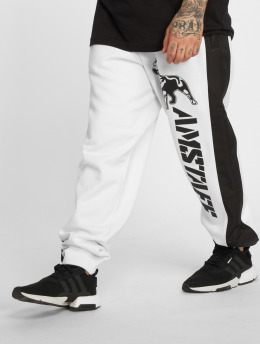 Amstaff joggingbroek Vanos wit