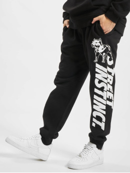 Amstaff joggingbroek Serpe zwart