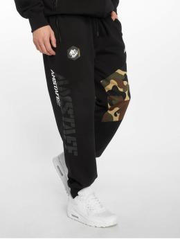 Amstaff Pantalón deportivo Cenzo negro