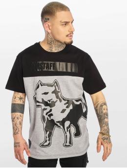 Amstaff T-Shirt Lagran grau