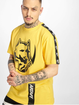 Amstaff T-Shirt Antar  yellow