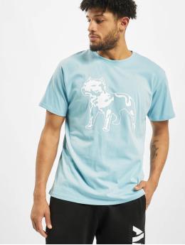 Amstaff T-Shirty Logo 2.0 niebieski