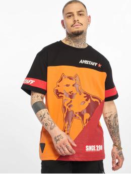Amstaff T-skjorter Asher svart