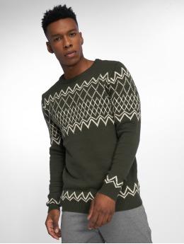 Anerkjendt Pullover Zag Knit green