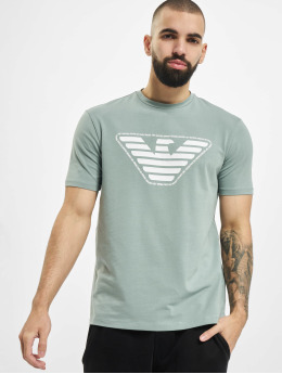Armani t-shirt Eagle  groen