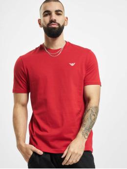 Armani t-shirt Basic  rood