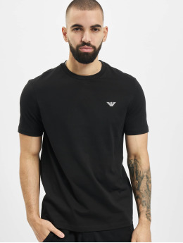 Armani T-Shirt Basic  schwarz