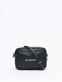 Balenciaga Bolso Everyday Multizip Logo negro