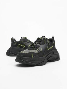 Balenciaga sneaker Triple S zwart