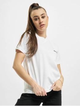 Balenciaga Tričká Small Fit Small Logo biela