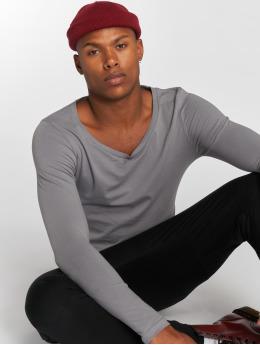 Bangastic Maglietta a manica lunga Sleeve grigio