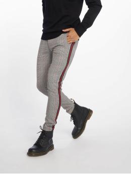 Bangastic Pantalon chino Check noir