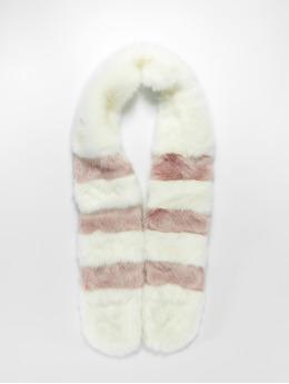 Bangastic Sciarpa/Foulard Fake Fur bianco